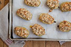 Baked Feijoas with Almond Crumble Topping. Photo / Annabel Langbein Media