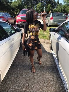 date outfit first Baddie Outfits For School, Dope Outfits, Girl Outfits, Fashion Outfits, Swag Outfits, Black Girl Fashion, Teen Fashion, Latest Fashion, Baddie Make-up