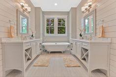 Kitchen Design Craftsman Master Suite New Ideas Craftsman Interior, Craftsman Style Homes, Craftsman House Plans, Modern House Plans, House Floor Plans, Modern Houses, Home By, Large Baths, Home Decor Bedroom