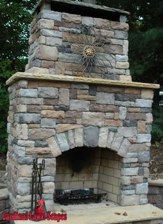 Outdoor Fireplaces Smith Mt Lake, Winston Salem, Summerfield