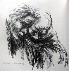 Two by Käthe Kollwitz
