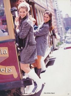 Christy Turlington (and her sisters) by Arthur Elgort for Vogue Italia December 1995