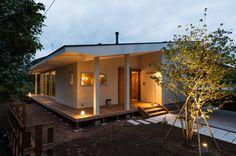 Una casita de madera moderna y familiar (de Antonia Tapia)