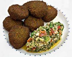 Falafel and Tabbouleh