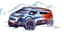 #Citroën #SpaceTourer #Hyphen #ConceptCar