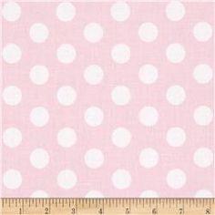 Riley Blake Wiltshire Daisy Dot Pink