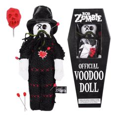 "Rob Zombie custom 10"" Plush Voodoo Doll"
