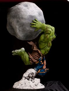 Ultimate Hulk vs Wolverine by FatBoyStudios (This is great!)