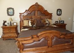 2- 11x14 Faints above my nightstands. I LOVE how they add just the right amount of umph to our western master bedroom!