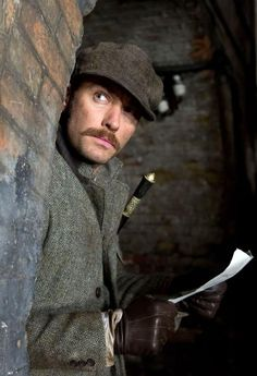 """Jude Law as Dr. Watson in """"Sherlock Holmes: A Game of Shadows"""""""