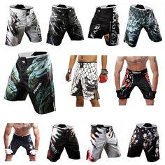 Mens MMA Martial Arts Shorts