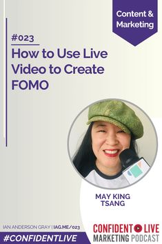 How to Use Live Video to Create FOMO via @iagdotme Content Marketing, Social Media Marketing, Talk A Lot, Google Play Music, Co Founder, Social Community, About Uk, Being Used, Techno