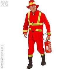 Disfraz de Bombero Rojo #disfraces #carnaval