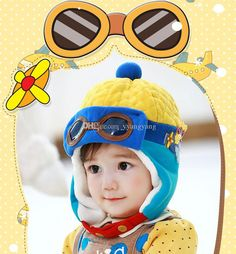 Cheap #Baby Bomber Winter #Ski Cap Waterproof Kids Hats Warm Hat Earflap Russian Trapper Hat Russian Baby Caps From Yyangyang, $9.22 | Dhgate.Com