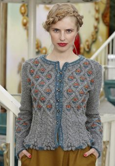 Knitting Patterns Cardigan Jacket Kathy Strickanleitung – Knitting instructions at Makerist Knitting Stitches, Knitting Designs, Hand Knitting, Crochet Pullover Pattern, Knit Crochet, Clothing Patterns, Knitting Patterns, Crochet Patterns, Handgestrickte Pullover