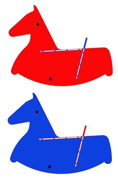 Wooden toys - Ecofriendly Toys - Rockinghorse - Handmade