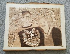 Wood burning I did for a friend's family.