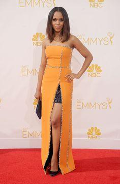 Kerry Washington in Prada - die schönsten Looks der Emmy-Verleihungen 2014 jetzt auf sistyle.ch