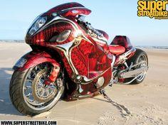 Suzuki Hayabusa,the fastest crotch rocket Suzuki Hayabusa, Futuristic Motorcycle, Motorcycle Gear, Suzuki Motorcycle, Motorcycle Design, Sidecar, Custom Hayabusa, Custom Sport Bikes, Custom Cars