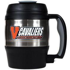 University of Virginia Cavaliers Large Travel Mug With Handle