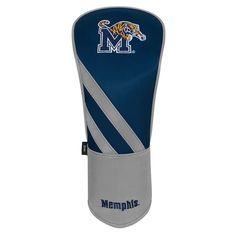 Team Effort Memphis Tigers Stripes Driver Headcover, Multicolor