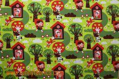 Little Red Riding Hood Alain  Jersey biologique  par Funnyfabrix, $12.99