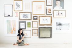 How To: Create an Art Gallery Wall at Home by heatherlee for Julep