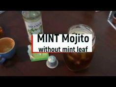 구하기 힘든 민트 잎 없이 시원한 모히또 커피 만들기! Mint mojito without mint leaf!