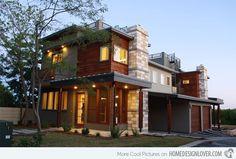 15 Geometric Modern Home Designs