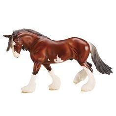Breyer SBH Phoenix Clydesdale Stallion