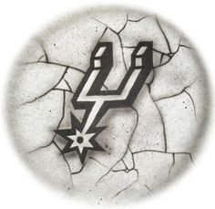 San Antonio Spurs Spirit   airbrushed tshirt or by StreaksandBlurs, $12.99