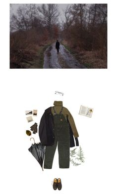 """A cold and lonely december day"" by fridabastrup ❤ liked on Polyvore featuring Barbour, Joseph, Jayson Home, Dr. Martens and Inverni"