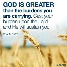 Lay your burdens down