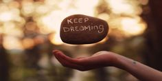 Art by:Joel Robinson Keep Dreaming Mantra, Bien Dit, Keep Dreaming, Dreaming Quotes, We Are The World, Positive Thoughts, Positive Thinker, Belle Photo, Amazing Photography