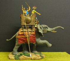 Germania figures, 70 mm, scale 1:24