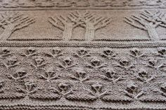 tree of life afghan struktur