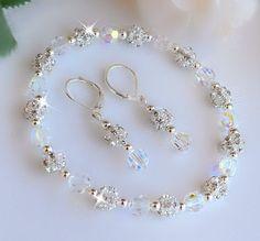 Swarovski Crystal and Rhinestone Bracelet and by HeartofGems