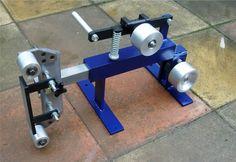 Make a belt grinder ...