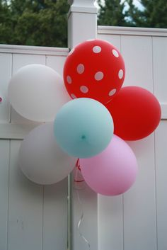Simple, balloons make the perfect circus decor #SocialCircus
