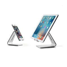 iPhone #Stand #Smartphone #Stand #by #Spherecalls #Elevated #Aluminum #holdiPhone Stand [Smartphone Stand] by Spherecalls, Elevated Aluminum holder compatible with most smartphones and tablets such as iPhone, Samsung Galaxy S6 / S6 / S7 / S7 Edge
