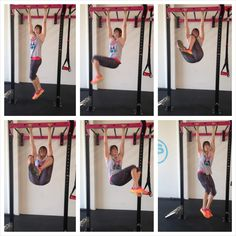 Hanging Knee Tuck Circles