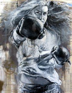 CECILE DESSERLE Through darkest nights Format 146 x 114 cmTechnique huile sur toile   Cécile Desserle - Site Officiel