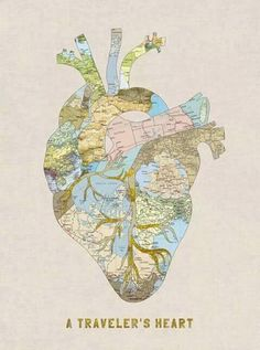 El corazón de un #mochilero. ¿A dónde te late viajar ahora mismo?