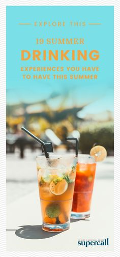 No matter if you live in the city, country or somewhere in-between, this is the ultimate summer drinking bucket list to have on hand at all times. Make sure you cross off at least five by Labor Day. Summer Bucket Lists, Party Entertainment, Summer Cocktails, Summer Activities, All About Time, Drinking, Alcoholic Drinks, Entertaining, Live