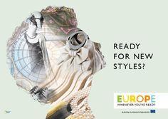 EU Tourism Campaign by Marc Thomasset, via Behance