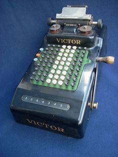 Victor Adding Machine (1920s).