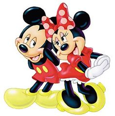 Mickey And Minnie Mouse Cartoon Characters On A Transparent Background.All Images Are Free To Copy For Your Own Personal Use Retro Disney, Disney Love, Disney Art, Disney Pixar, Walt Disney, Disney Characters, Mickey Mouse Imagenes, Mickey E Minnie Mouse, Mickey Mouse Photos