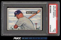 1951 Bowman Mickey Mantle ROOKIE RC #253 PSA 7 NRMT (PWCC)