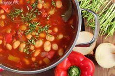 Gdy nie masz czasu ugotuj... Wielki gar pożywnej zupy!