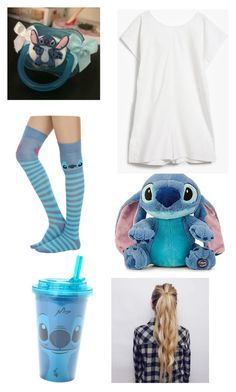 """""""ddlg -stitch-"""" by princess-llyssa ❤ liked on Polyvore featuring Disney and Base Range"""